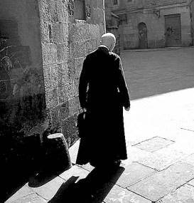 Priest in Barcelona