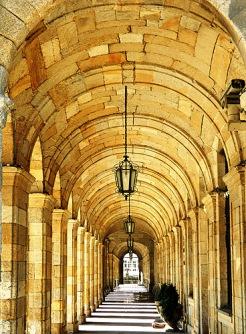 Santiago Spain Classical Arches