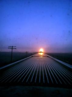 Sunrise over Manitoba