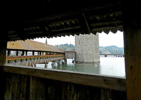 Switzerland Medieval Keep and Moat