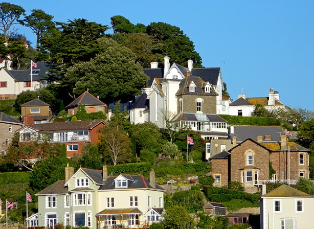the prosperous area of Kingswear