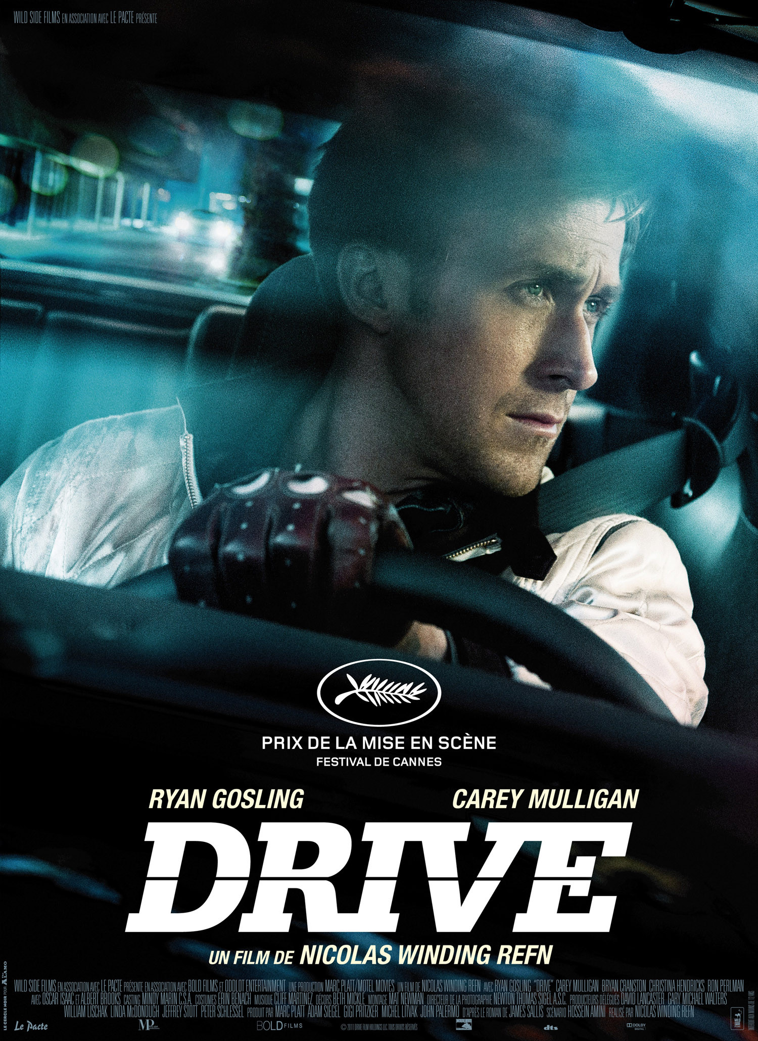 Drive 2011 movie poster ryan gosling in this very cool very slick