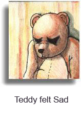 Dark Art by HIAB-X - Teddy Felt Sad