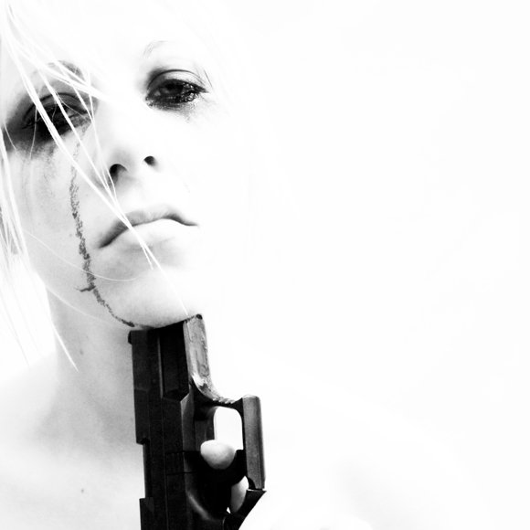 Dark Art ¦ Photography Suicide Girl with a Gun by Danielle Tunstall