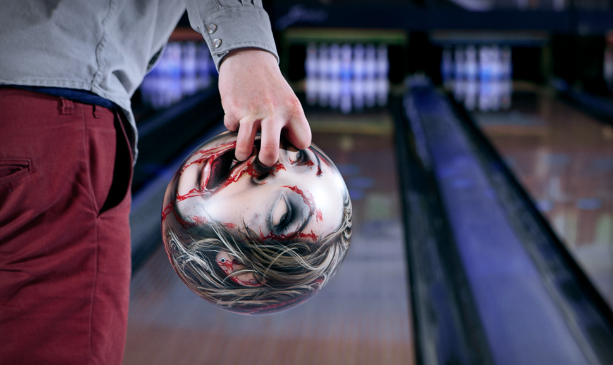 scream your head off awesome severed head bowling balls design made in germany and oliver paa