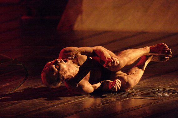 Danny Boyle does Frankenstein – National Theatre Benedict Cumberbatch as monster Jonny Lee Miller as Victor