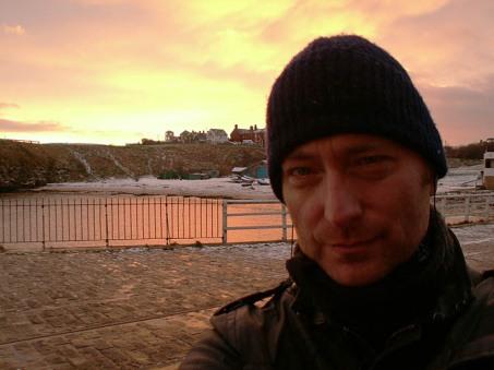 David J Rodger at Tynemouth, North East UK