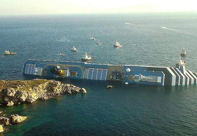 Costa Concordia Captain Schettino gets a verbal blasting by