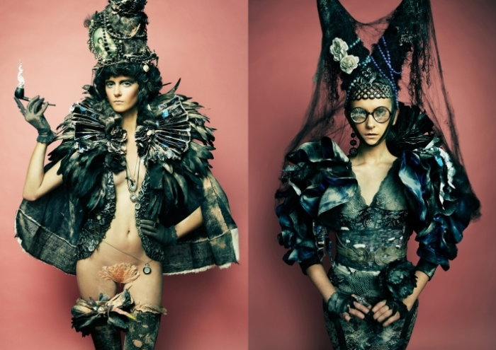 Future fashion or post-apocalyptic decadence? Photography by Danil ... H.r. Giger Wallpaper