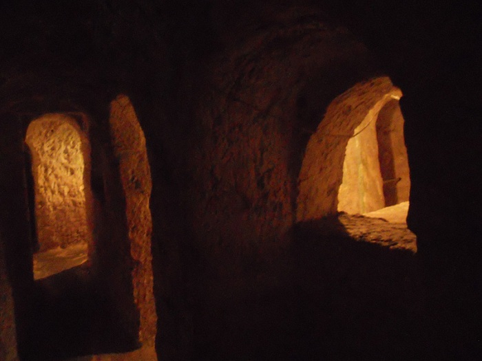 Malta - catacombs outside ancient city rabat