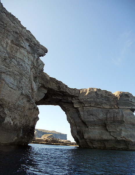 Malta - Gozo - Azure Window - Viewed from the sea