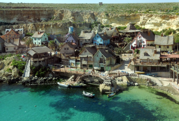 Malta - Gozo - Popeye Village