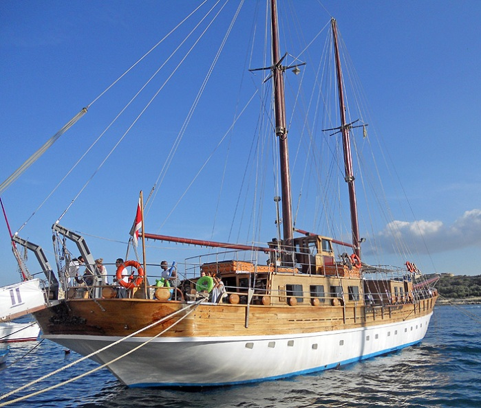 malta - sliema  turkish gulet for charter