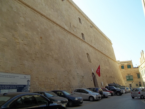 Malta Valletta Headquarters of Knights of St John Jerusalem Rhodes and Malta
