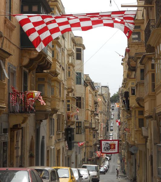 Malta Valletta street view