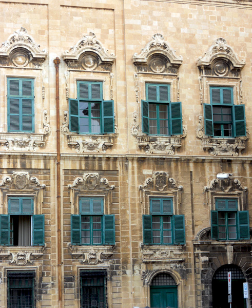 The main nations of the Knights of Malta were each given their own hotel so young men could converse in own language