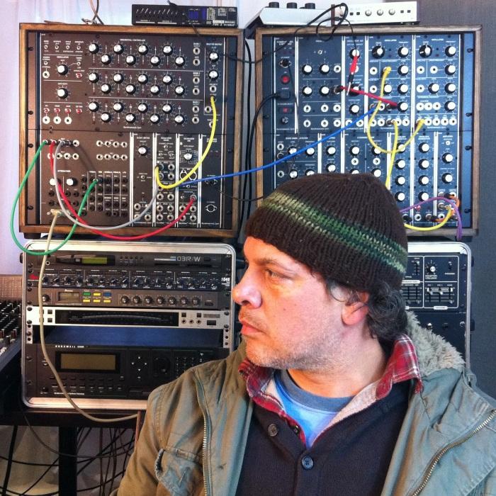 Mark Van Hoen aka Locust - electronic music artist living Brooklyn NY USA