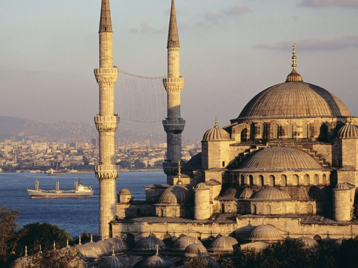 Istanbul Turkey Sultan Ahmed Mosque