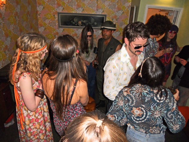 Photos The Return of the 1970s - a private party at The Big Chill bar, Bristol, UK The Venue