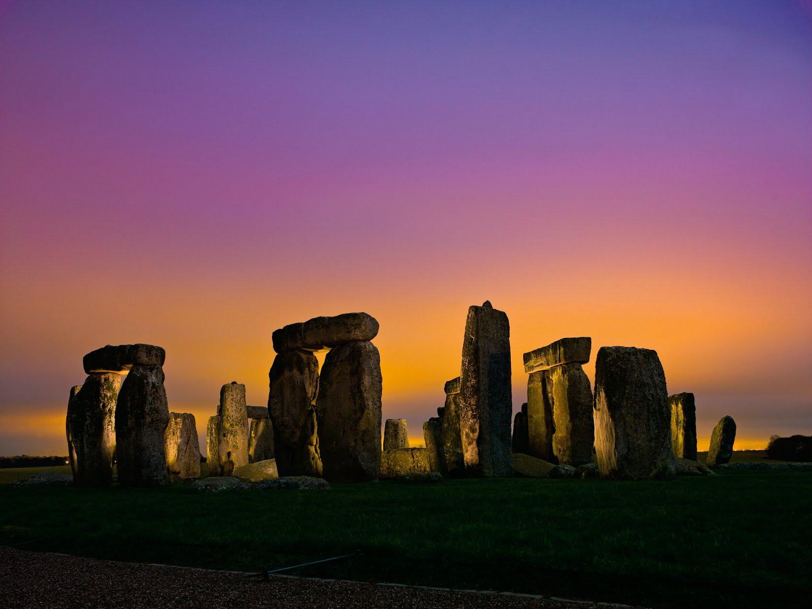 Stonehenge In Flames