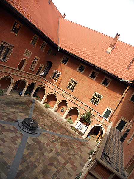 Collegium Maius - Kraków Old Town Poland - Jagiellonian University oldest building dating back to the 14th century
