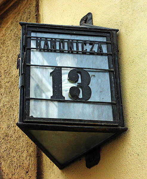 House number 13 Krakow Poland