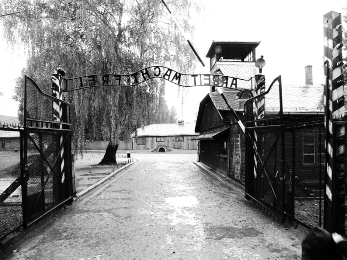 Auschwitz Poland Main Gate