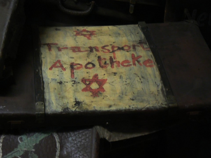 Auschwitz Poland suitcase belonging to a victim