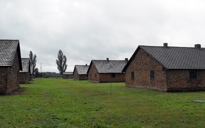 Birkenau Poland prisoner blocks