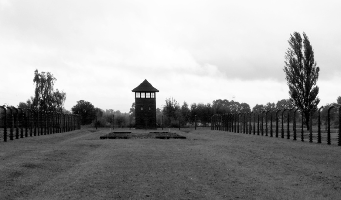 Birkenau Poland guard tower