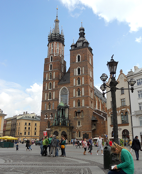 Mariacki church in Krakow Poland St Marys Church