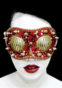 Joji Kojima - Forging the Foundations of Cyberpunk Fashion - Eye Mask