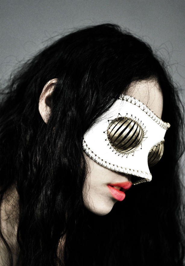 Joji Kojima - Forging the Foundations of Cyberpunk Fashion - Horror Mask