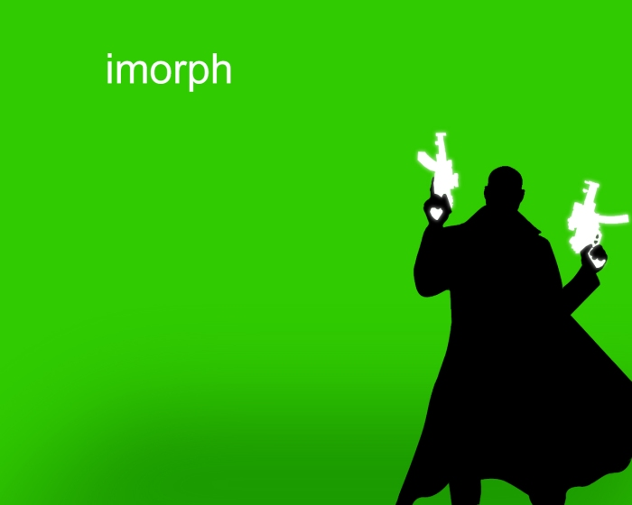 iMorph Graphic Design with Sci-Fi twist by The Salad Man #Wallpaper