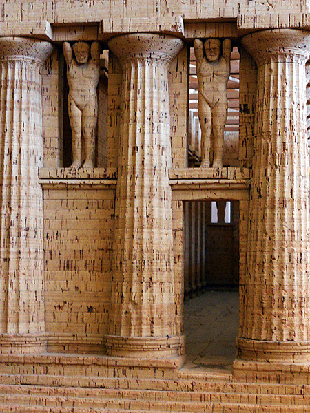 Photo showing how Titans would have looked at Valley of Temples - Sicily by David J Rodger