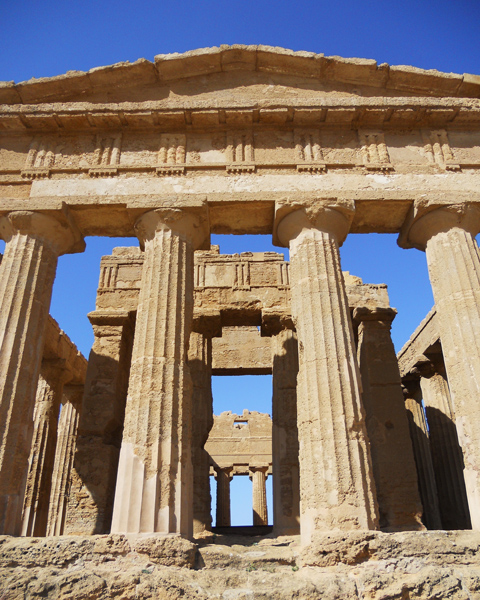 Photo Temple of Concordia - Valley of Temples Sicily by David J Rodger