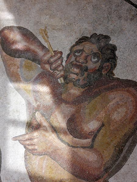 Sicily - Villa Romana del Casale mythological mosaic