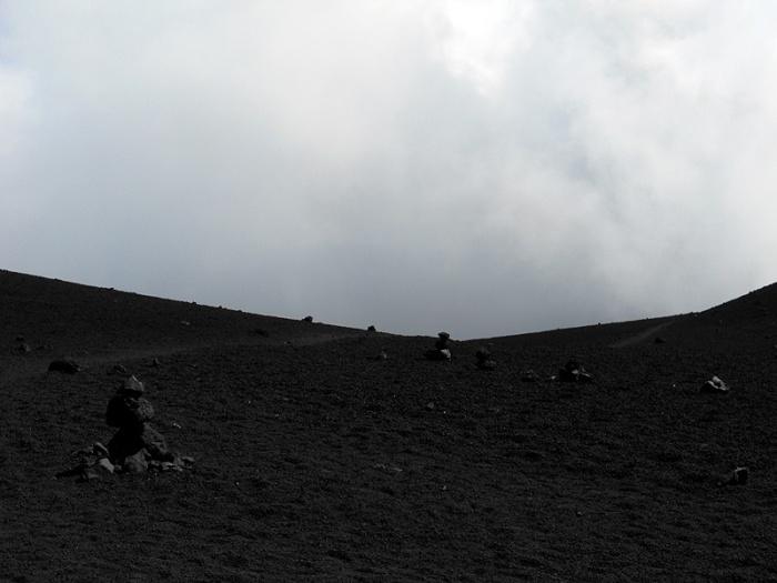 Travel photo Sicily mount Etna alien landscape by David J Rodger