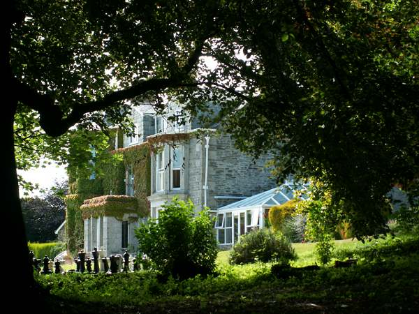 Cornwall England - travel photo - Tredethy Country House hotel 2