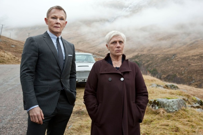 Mutant Bond M Mashup Film Still from Skyfall digital manipulation