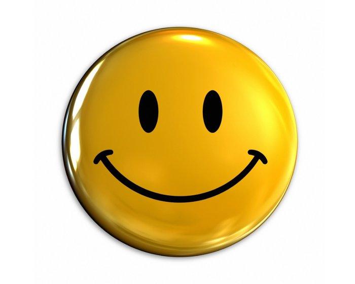 positive mental attitude - wallpaper - smiley face