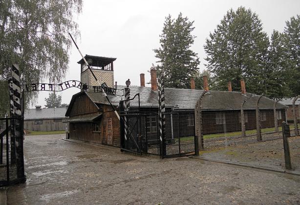 Auschwitz – Main gate