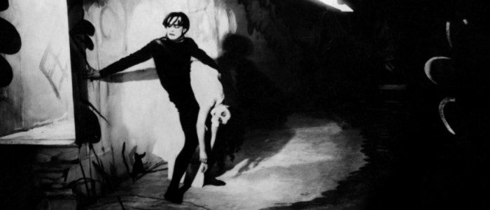 The Cabinet of Dr Caligari (1920)  Cesare - Conrad Veidt creeps through the German mountain village Holstenwall