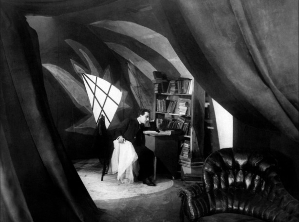 The Cabinet of Dr Caligari (1920) Friedrich Fehér as Francis takes the investigation of the murders into his own hands as the walls of reality seem to warp around him