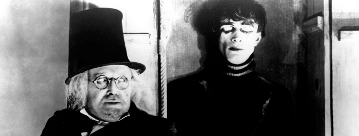 The Cabinet of Dr Caligari (1920) Werner Krauss  and sleepwalking Cesare - Conrad Veidt are connected to a series of murders in a German mountain village Holstenwall #wallpaper