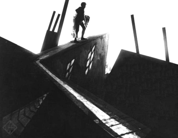 The Cabinet of Dr. Caligari - like a Lovecraftian nightmare