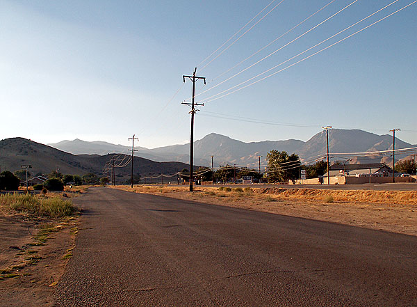 Photo deserted survivor settlement in California mountains  image David J Rodger - All Rights Reserved