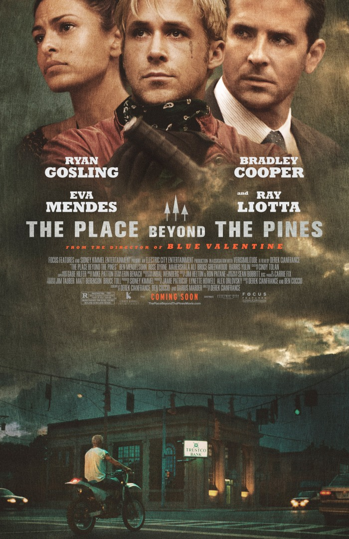 Official movie poster for The Place Beyond the Pines (2012) Wallpaper