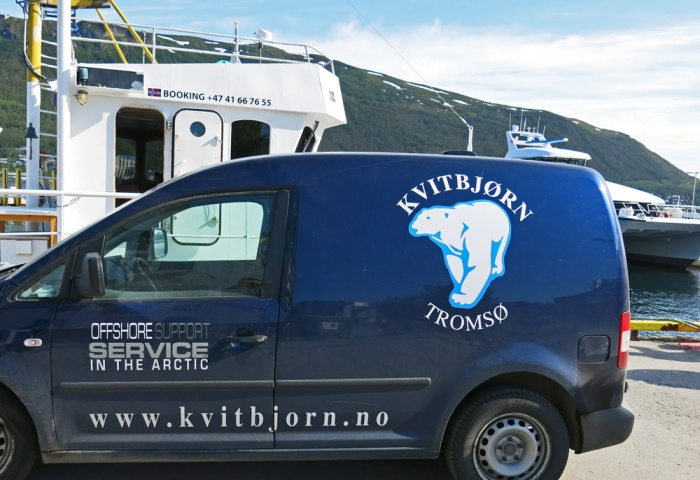 Kvitbjorn off shore support in the Arctic - Tromso