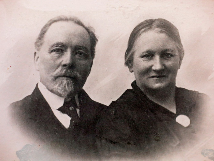 My great great grandfather and his wife
